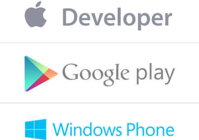 iOS Developer, Android Developer, Windows Developer